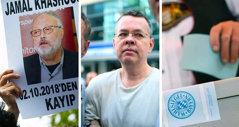 Khashoggi, Brunson and the Bavarian elections – outcomes of the week
