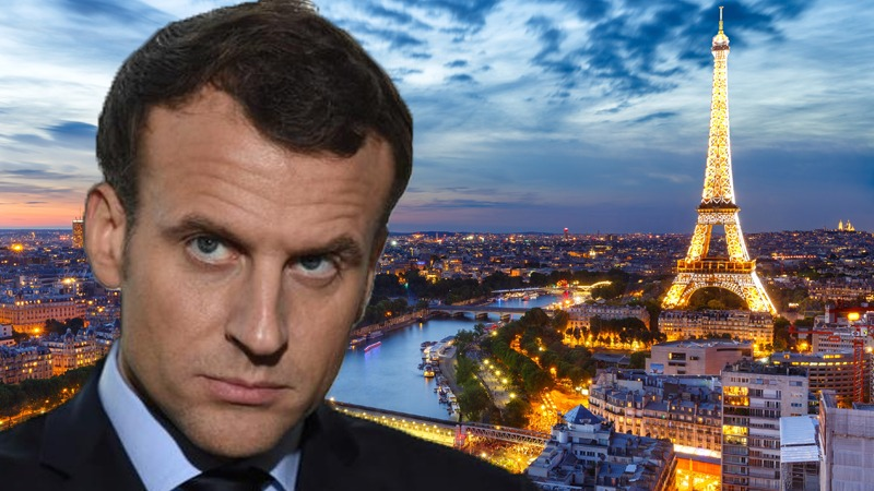 Meeting in Paris: Macron tries to divert attention