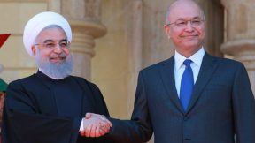 President Rouhani Visits Iraq in broad daylight
