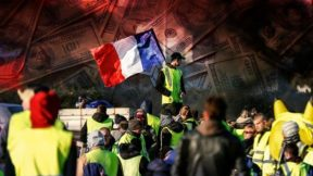 """The beginning of a social """"Stalingrad"""" in Europe: the Yellow Vests against the totalitarian Empire of Finance"""