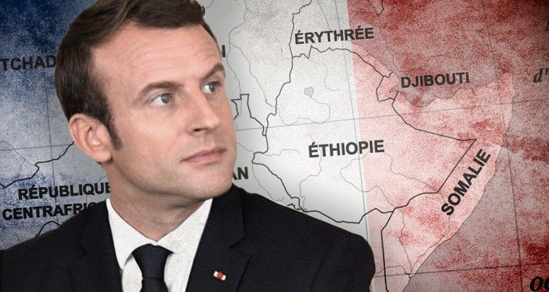 What does Macron hope to accomplish in East Africa?