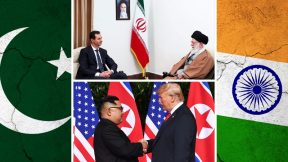 India-Pakistan, Trump-Kim, Assad in Iran
