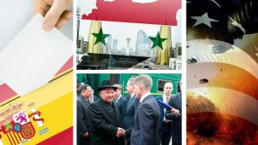 Nur-Sultan talks, Spanish elections, Kim in Russia