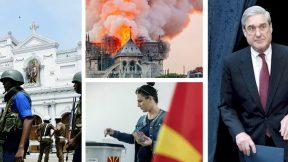 Sri Lanka, Notre Dame, Macedonia, Mueller report