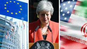 EU elections, Theresa May resigns, Iran VS US