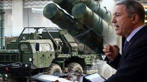 Savunma Bakanı Hulusi Akar'dan önemli açıklamalar: S-400 Anlaşması bitmiştir