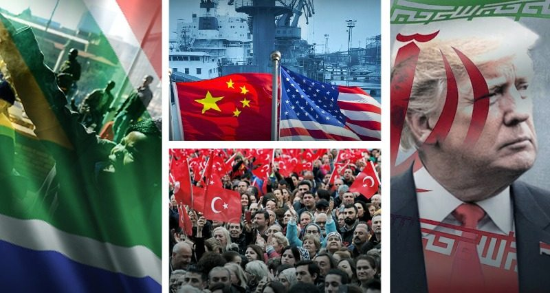 South African Elections, US-China trade war, Istanbul and Iran