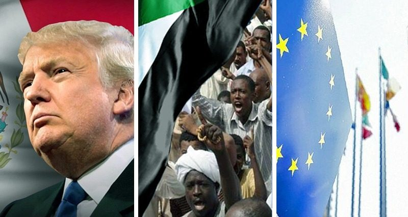 Trump VS Mexico, EU leaders meet in Brussels, Sudan protests