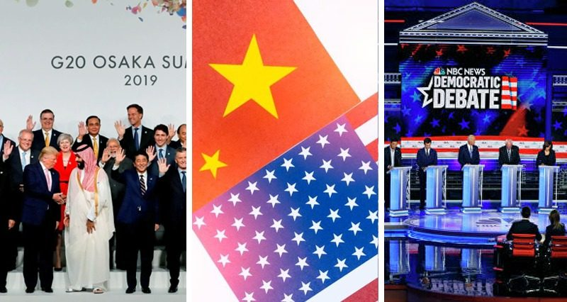 G20, Democratic debates, a pause in the trade war