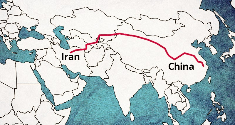 Iran's Interests in China's One Belt One Road Policy - United World  International