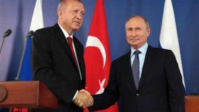 Erdoğan'ın Rusya ziyareti