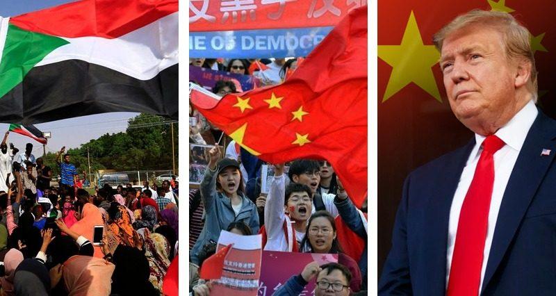 Sudan agreement, Hong Kong Protests, Venezuela and Trade War