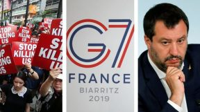 Chaos in Italy, Hong Kong protests, G7 summit