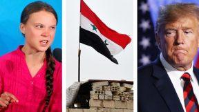 Another attempt to impeach Trump, Greta Thunberg's UN speech, Syria vs. Turkey