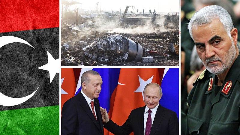 Ukrainian plane, ISIS celebrates Soleimani's death, ceasefire in Libya, Erdogan and Putin meet