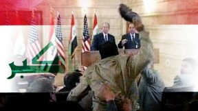 """We want a free, independent Iraq"": journalist who threw shoes at George Bush"