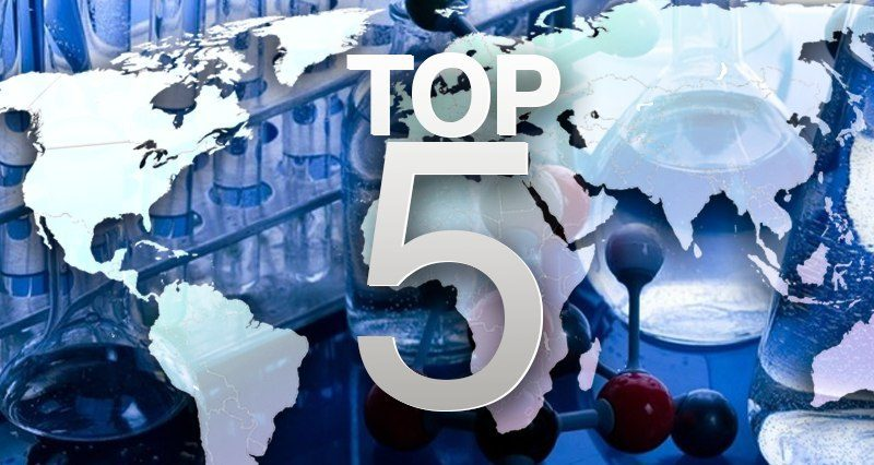 Top 5 countries most prepared for biological warfare