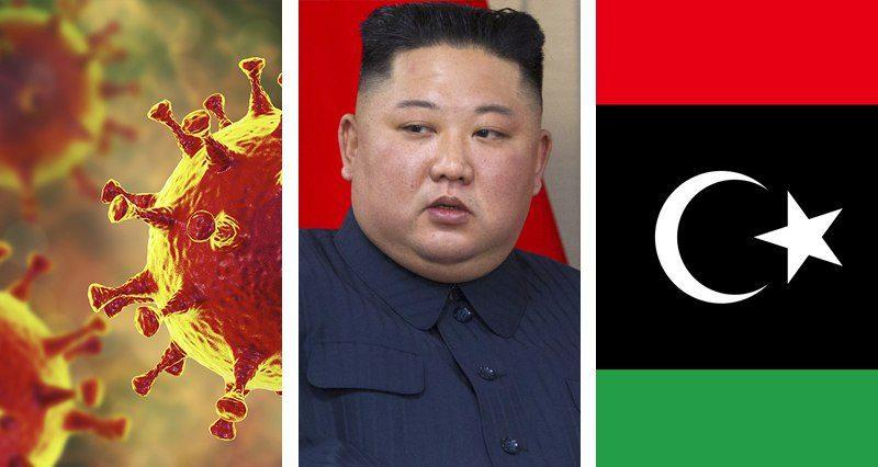 Coronavirus, Kim Jong-un, Libya