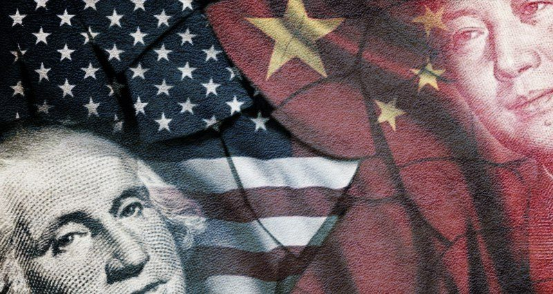 What kind of conflict is brewing between the US and China?