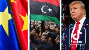 "Libyan fire, EU-China, the Turkish ""claw"", Tiktokers vs Trump"