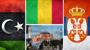 The UAE In Libya, protests in Serbia and Mali, Armenia and Azerbaijan, Hagia Sophia
