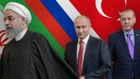 Turkey, Russia and Iran find common ground in Syria