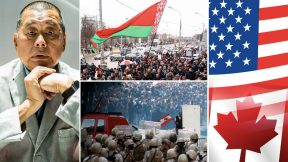 Protests in Beirut, elections in Belarus, arrest of Jimmy Lai, US VS Canada
