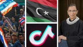 Protests in Thailand, the death of Ruth Bader Ginsburg, Trump's deal for Tiktok, Libyan oil