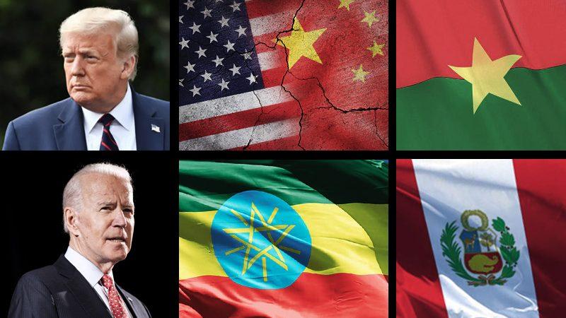 Biden VS Trump, new US anti-Chinese measures, elections in Burkina Faso and Peru, war in Ethiopia
