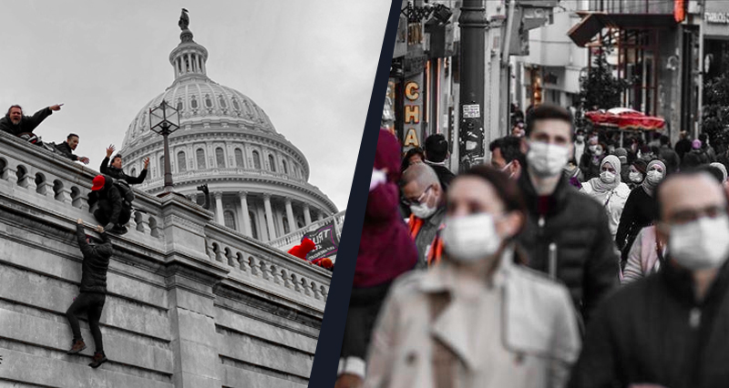 Last week in Turkey: Reactions to the Capitol riots, latest on the pandemic