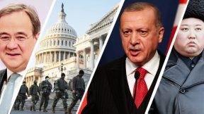 "Troops in D.C., ""digital fascism,"" Merkel's successor, Israeli strikes, Tunisia, Libya, Uganda and North Korea"