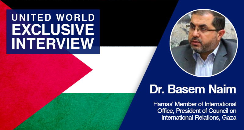 'We are ready for cooperation with Turkey in the Eastern Mediterranean' – Hamas Executive Basem Naim