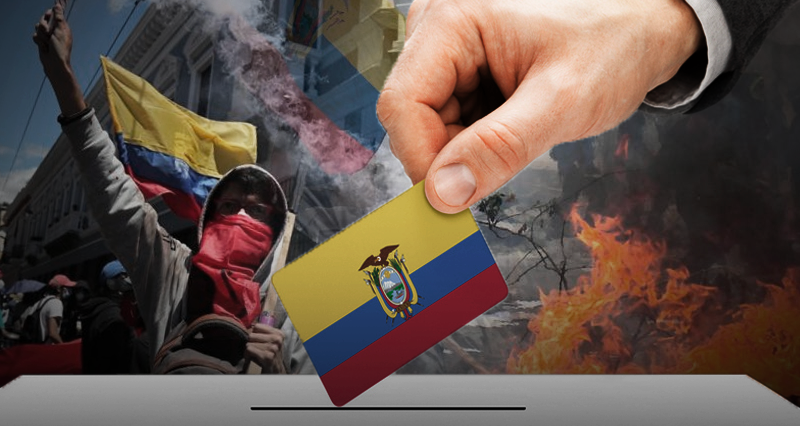 Ecuador: Notes on the first  round of the elections