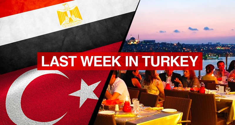 Reconciliation between Turkey and Egypt; Vaccination efforts and local normalization procedures amidst the pandemic
