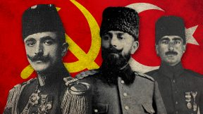 Enver, Jamal and Halil Pashas in the eyes of an Armenian Communist