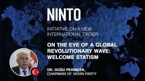 """""""Human history on the edge of a revolutionary leap: Welcome Statism"""""""
