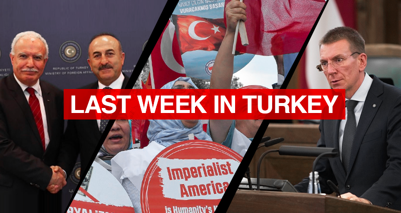 Reactions to Latvian statement on the so-called Armenian genocide; meeting between Turkish-Palestinian top diplomats; Reactions on the attacks on East Jerusalem and Al Aqsa Mosque; Rising anti-American sentiment in Turkey