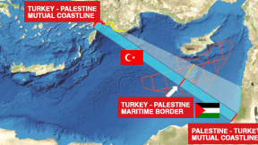 Turkish-Palestine EEZ delimitation proposal causes panic in Israel and Greece