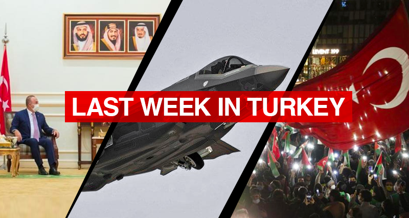 Turkish Presidential Spokesperson's Proposal for a negation over the s-400 crisis; Turkish top diplomat's dialogue with Saudi counterpart and the Turkish reactions to Israeli attacks on Palestine