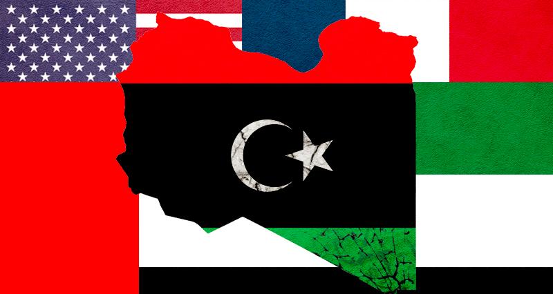 The US', France and UAE's destabilizing operation