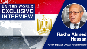 """Egyptian diplomat: """"This fighting of 11 days has proven that the Israelis are not secure"""""""