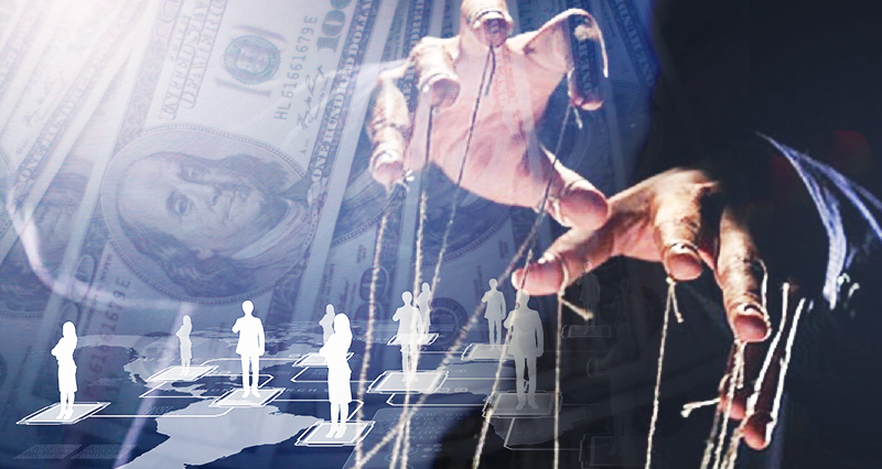 Conspiracy theorists – jesters of capitalism