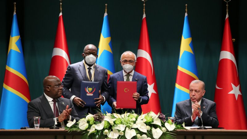Turkish-Congolese presidential meeting in Ankara